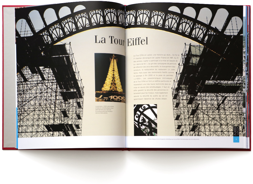 Layher 40 double page Tour eiffel